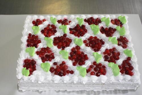 Нарезной торт Морозко. 360 руб.-1 кг.
