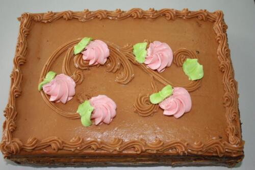 Нарезной торт Праздничный. 260 руб.-1 кг.