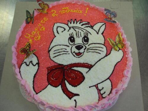 Тематически детские торты